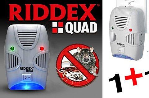 Riddex Quad rágcsáló és rovarriasztó