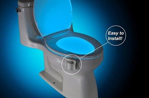 Glow Bowl LED-es WC világítás mozgásérzékelővel