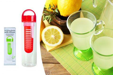 Infuser palack a gyümölcsös ízű frissítőkhöz