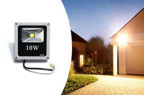 10 W-os LED reflektor kültéri használatra