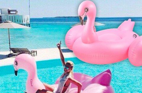 Óriási felfújható flamingó matrac