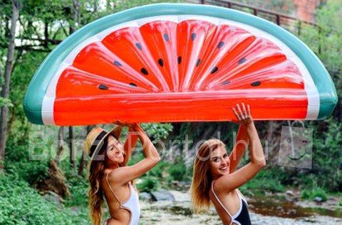 Görögdinnye formájú felfújható matrac