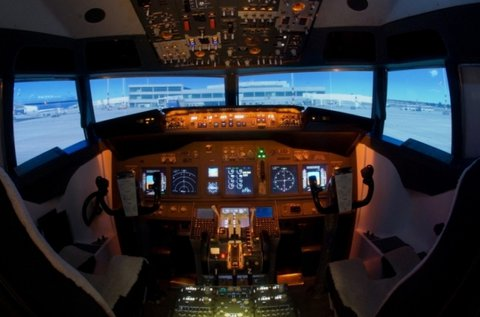 30 perces Boeing szimulátorozás 1-3 főre