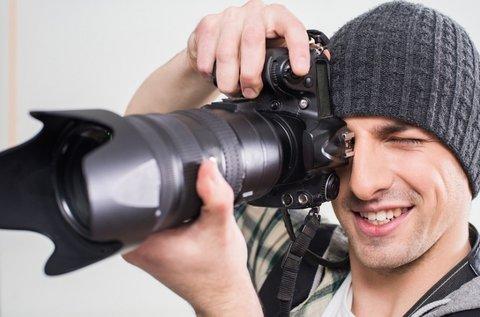 Stúdió vagy szabadtéri fotózás színkorrekcióval