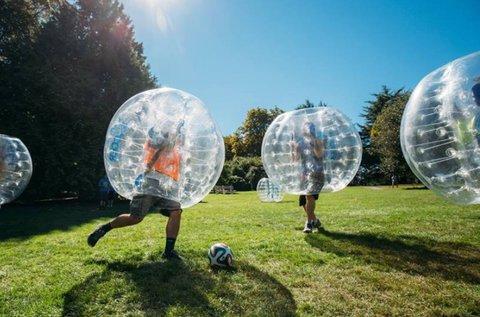 1 órás szórakozás buborékfocival