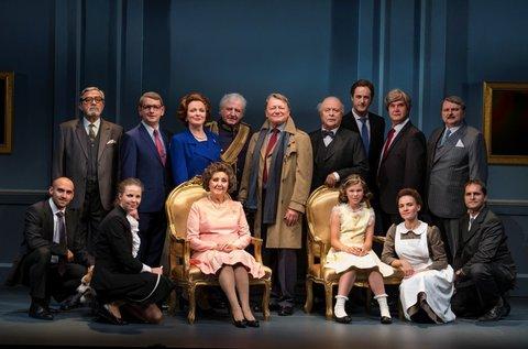 Audiencia című színdarab Halász Judittal