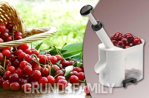 Cseresznye és meggymagozó készülék