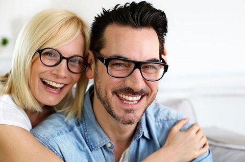 Komplett szemüveg normál 1.5-ös lencsével