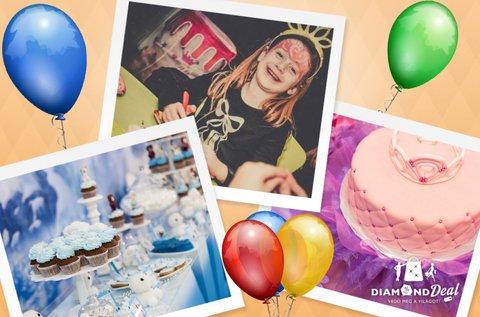 Születésnapi buli gyerekeknek szervezéssel