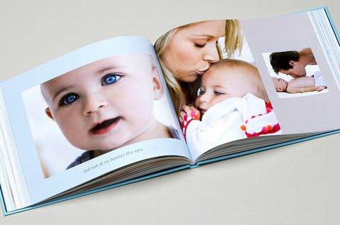 Keménytáblás A4-es 46 oldalas fotókönyv