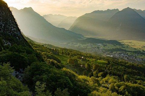 Canyoning túra Bovec vonzáskörzetében
