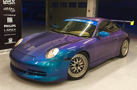 3 körös Porsche vezetés