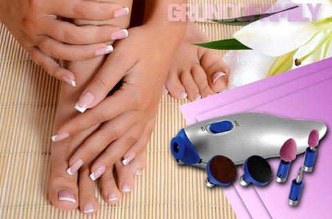 BeautyCare manikűr és pedikűr szett tároló zsákkal