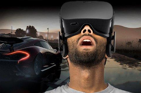1 órás Virtuális Reality autószimulátorozás