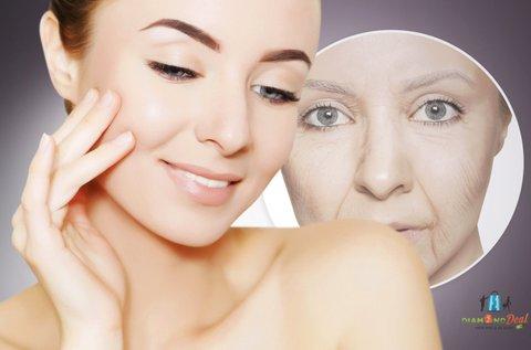 Lifting arcemelő csomag izomstimulációval