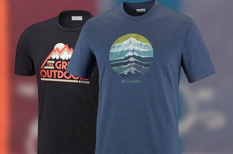 Columbia férfi pólók több színben és típusban
