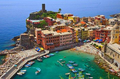 Toszkána és Cinque Terre buszos kirándulással