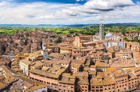 Római városnézés és romantika Toszkánában