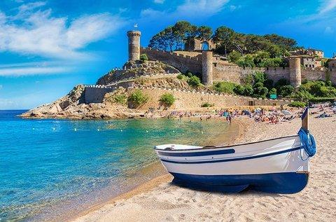 Júniusi nyaralás a spanyol Costa Brava tengerpartján