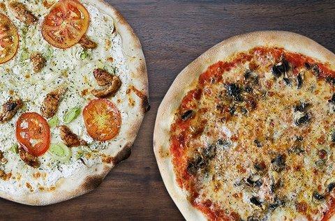 Gluténmentes pizza 4 választható feltéttel