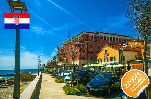 Júniusi vakáció Novigrad tengerpartján