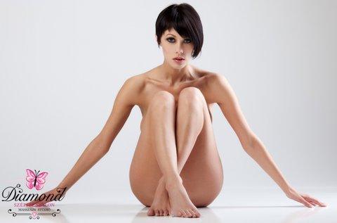 Teljes láb, hónalj és bikinivonal gyantázás