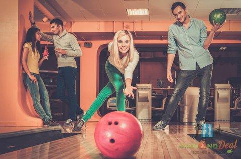 2 óra bowlingozás max. 6 fős társaságnak