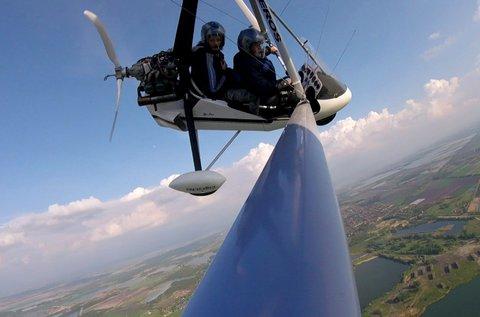 15 perces repülés 1 fő részére sárkányrepülővel
