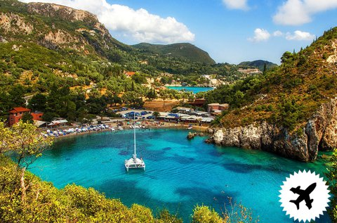 8 napos nyaralás a meseszép Korfun repülővel
