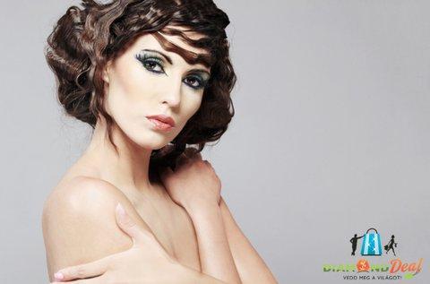 Női hajvágás keratinos hajkezeléssel