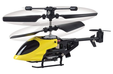 Mini RC helikopter kék, piros vagy sárga színben