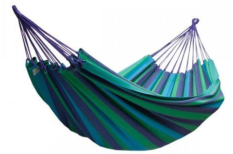 2 személyes függőágy kék-zöld színben