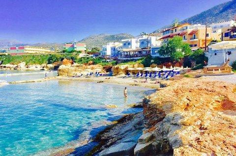 8 napos napfényes üdülés a tündérszép Krétán