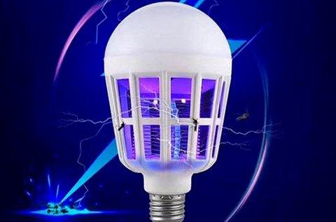 15 W-os szúnyogirtó LED izzó E27-es foglalatba