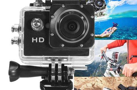 Total Tech sportkamera HD felbontással