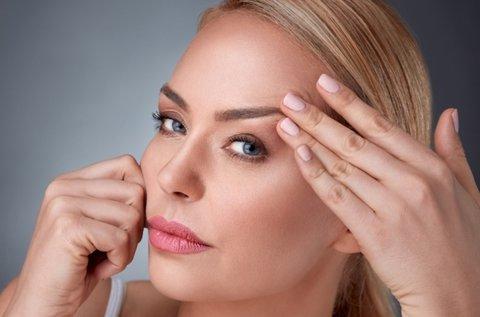 Alsó vagy felső szemhéj és szarkaláb HIFU kezelés