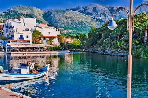 1 hetes vakáció egy krétai halászfaluban repülővel