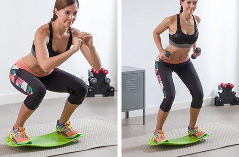 Fitness egyensúlyozó deszka
