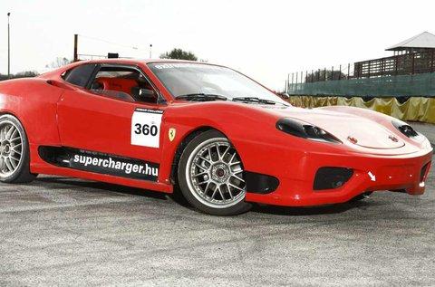 12 körös Ferrari 360 Replika vezetés