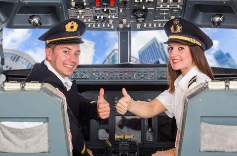 15 perces repülőgép tesztvezetés Budaörsön