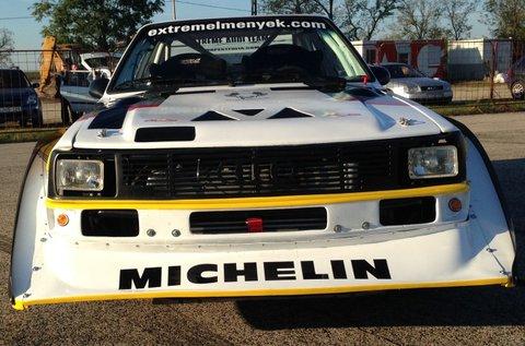 8 körös Audi S1 rally vezetés