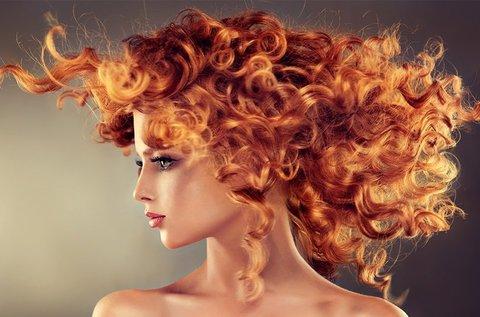 Golden Curl frizura készítése akár hosszú hajra