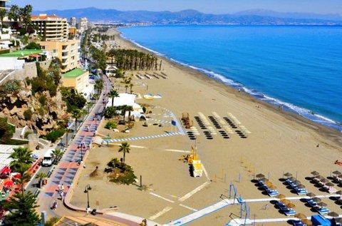 1 hetes feltöltődés repülővel a spanyol tengerparton