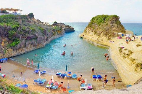 1 hetes nyaralás Korfu szigetén buszos utazással