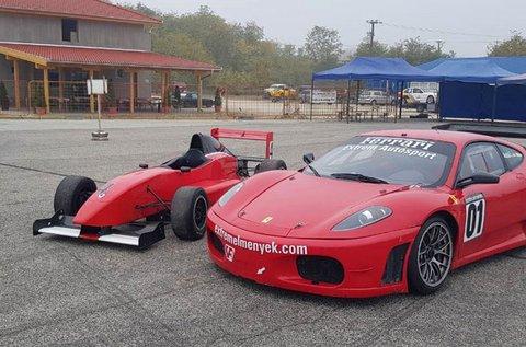 Formula Renault 2 vezetés Kakucson és Örkényben