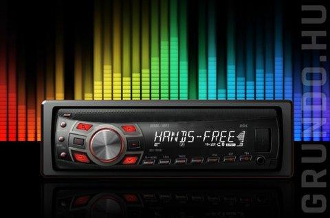 4 hangszórós Adivox Mp3 autórádió fejegység