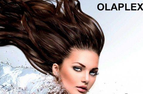 Olaplex hajújraépítő szalonkezelés