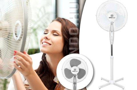 Több fokozatban állítható álló ventilátor