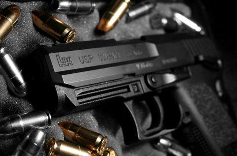 80 lövés 5 féle fegyverrel Ráckevén