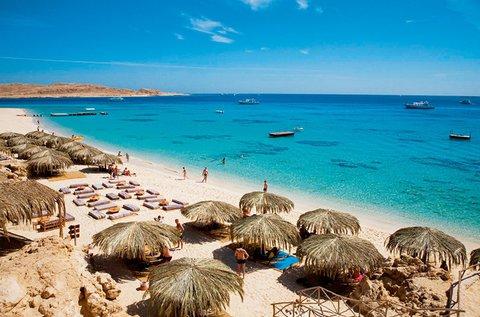 1 hetes nyaralás a Vörös-tengernél, repülővel